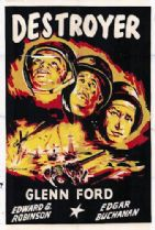 Destroyer 1943 DVD - Edward G. Robinson / Glenn Ford